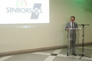 Gilberto Brocco, novamente presidente do SINBORSUL
